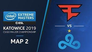 CS:GO - FaZe vs. Cloud9 [Dust2] Map2 Ro5 - Legends Stage - IEM Katowice 2019