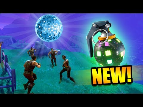 HUNTING FOR BOOGIE BOMBS! *NEW DANCE GRENADE!* | Fortnite Battle Royale Funny Moments thumbnail