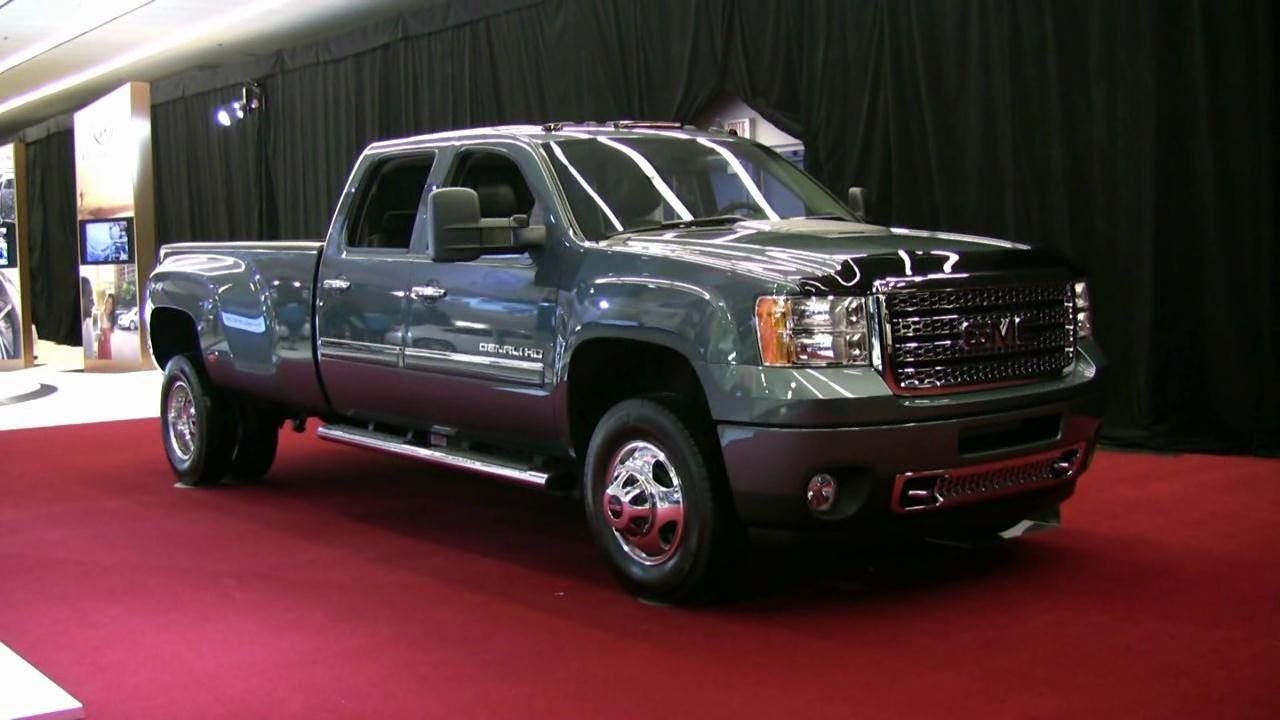 Gmc Denali For Sale >> 2012 GMC Sierra 3500 Denali Exterior and Interior at 2012 Montreal Auto Show - YouTube