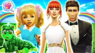 💗ALICE IN WONDERLAND & RAPUNZEL'S WEDDING👰💍 The Sims 4 Disney Villains Challenge #15