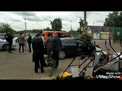 Спецоперация Тульских ДПС и транспортников в Кимовске по задержанию нелегальных пер-чиков из Москвы