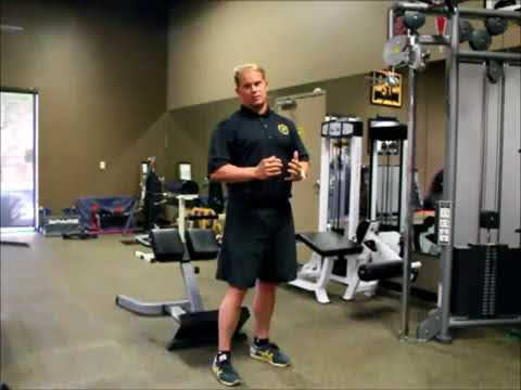 Golf Exercise: Single Arm Cable Pull