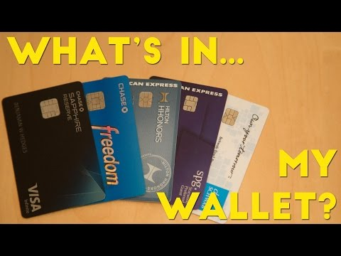 What's in My Wallet? The Best Credit Cards 2016/2017