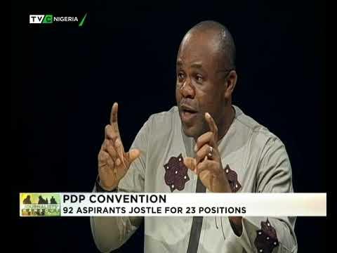 Journalists Hangout 8th Dec. 2017 | PDP Convention