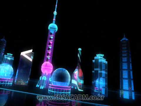 Motion graphics for 2008 Beijing Olympic games