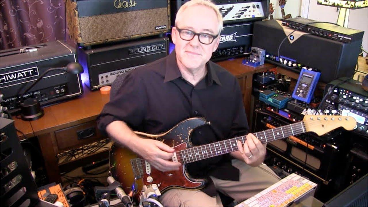 The Wind Cries Mary Jimi Hendrix Guitar Lesson Tim Pierce