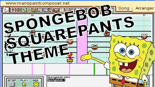 Spongebob Squarepants Theme Song - Mario Paint Composer 2.0