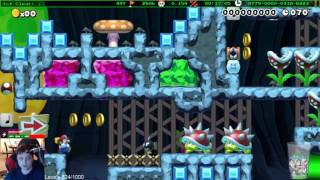Super Mario Maker - Speedrun Levels Montage #22