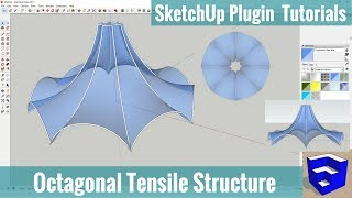 Video Creating an Octagonal Tensile Structure with Curviloft in SketchUp - SketchUp Extension Tutorials download MP3, 3GP, MP4, WEBM, AVI, FLV Desember 2017