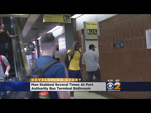 Stabbing At Port Authority