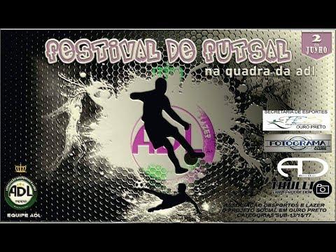 FESTIVAL DE FUTSAL NA ADL!!! 02-06-2017