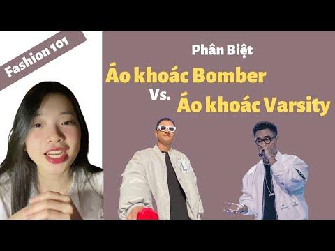 Phân Biệt Áo khoác Bomber Jacket Vs. Varsity Jacket | Tê Linh | Fashion 101 #1 #shorts