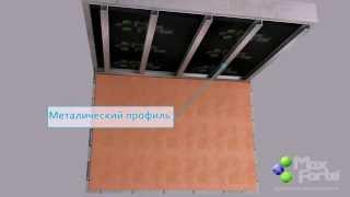 Звукоизоляция МаксФорте для потолка Пенза(Материалы для звукоизоляции помещений в Пензе shummag.ru., 2014-09-08T09:46:12.000Z)