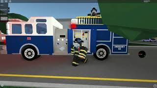 Roblox firefighter simulator Burned Pizza.