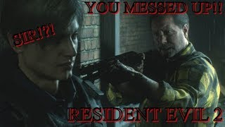 THE SKILLS ARE POPIN!!!(Resident evil 2 part 4)