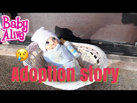 BABY ALIVE Nikkis Adoption Story  baby alive videos