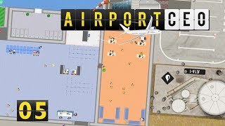 Airport CEO | Personalraum und Fuel Supply ► #5 Flughafen Bau Management Simulation deutsch german