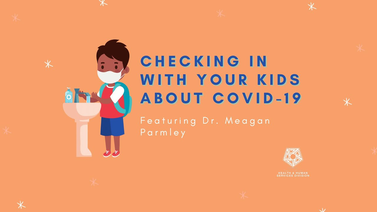 Checking In With Your Kids About COVID-19