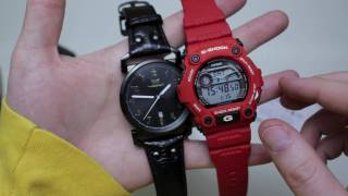 Casio G-Shock G7900A-4 Red Unboxing & Overview + Size Comparaison & Close Ups!
