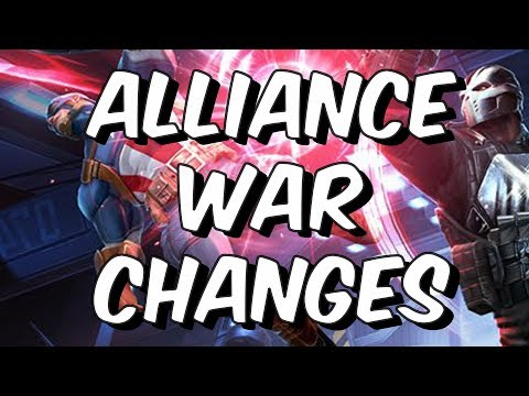 Alliance War Changes - October 17th Update - Marvel Contest Of Champions