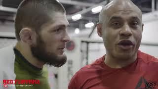 Видеоблог:Хабиб, Зубайра и Ислам на совместной тренировке в Бруклине перед UFC 223/Episode AOF