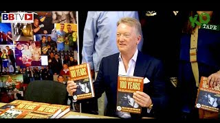 BBTV SPECIAL FEATURE: 100 YEARS OF COLLYHURST & MOSTON BOOK LAUNCH WITH FRANK WARREN
