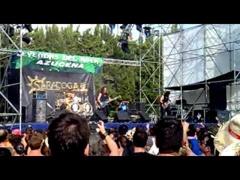 saratoga -el planeta se apaga + vientos de guerra - leyendas del rock 2012