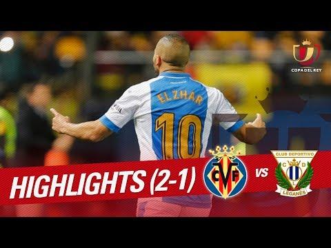 Resumen de Villarreal CF vs CD Leganés (2-1)