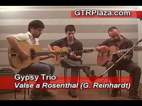 Gypsy Trío - Valse a Rosenthal