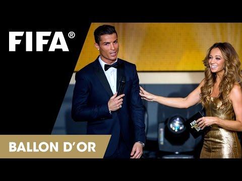 HIGHLIGHTS: FIFA Ballon D'Or 2014 TV SHOW (short)