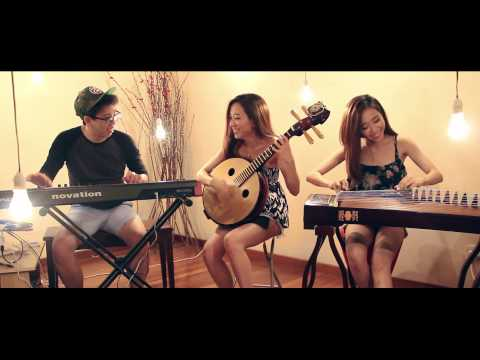 "MUSA - ""Counting Stars"" One Republic and ""Try"" Colbie Caillat - Zhongruan Guzheng Keyboard 古筝,中阮"