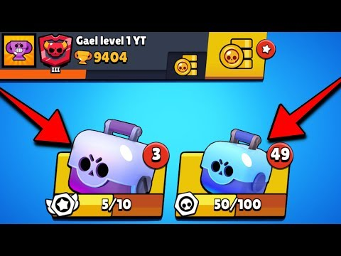 BRAWL STARS - EPIC PACK OPENING COMPTE LEVEL 1 !!