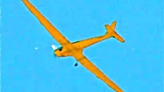 ufo flies over the radar in a mustard yellow fake plane outfit hard to not see this one coming