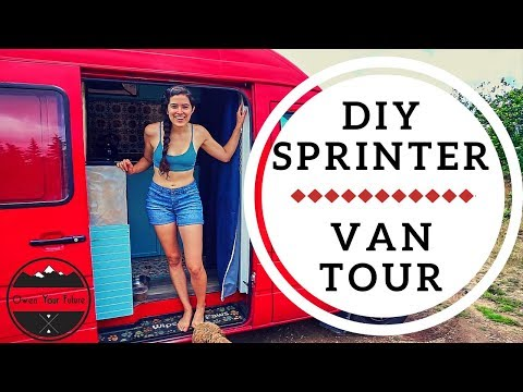 VAN TOUR: TWO ENGINEERS BUILD A PINTEREST INSPIRED CUSTOM SPRINTER VAN IN 6 WEEKS