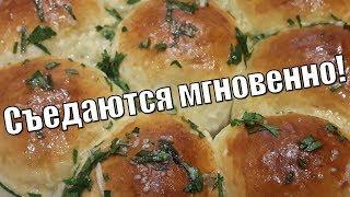 Пампушки с чесночным соусом!Pampushkas with garlic sauce!