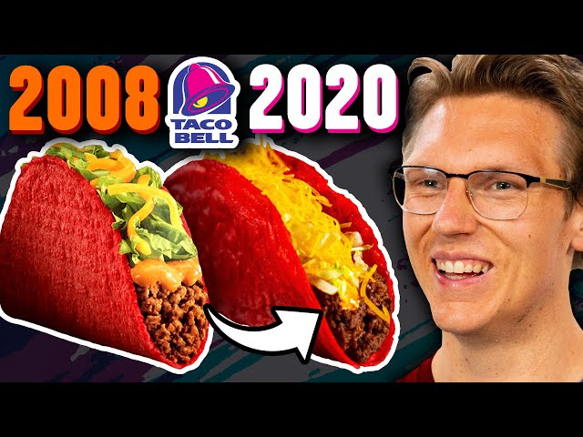 Recreating Taco Bell's Discontinued Volcano Taco