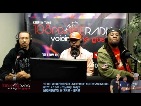 The Aspiring Artist Showcase - Hosted by: Themroyaltyboys on Mondays - 7pm - 8pm (est)