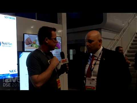 DSE 2015: Gary Kayye Chats With NEC Display's Rich Ventura About DS Partnerships, Including Google