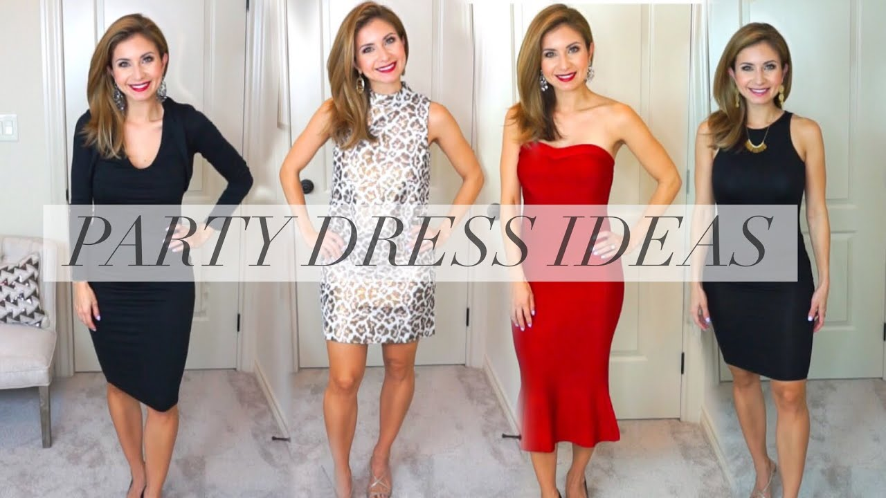 Holiday Dress Ideas And Try On With Venus Lisa J Makeup