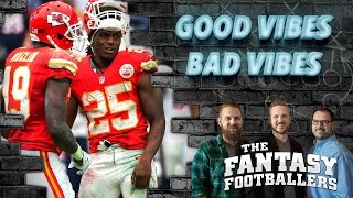 Fantasy Football 2016 - Good Vibes / Bad Vibes, Fantasy News - Ep. #256