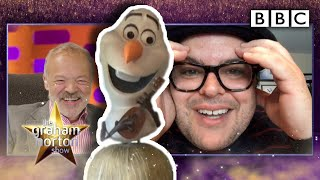 Why Josh Gad's kids CAN'T STAND Olaf and Frozen... | The Graham Norton Show - BBC