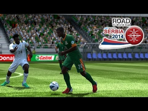 Zambia vs. Ghana | Road To World Cup Serbia 2014 | FIFA 13