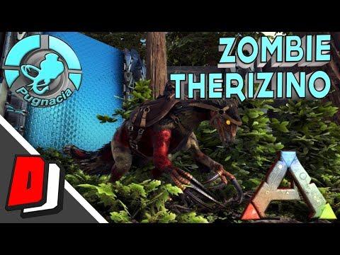 ark-poopcano-evolved---zombie-therizino-tame---pooping-evolved-gameplay---e25