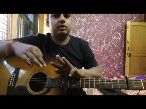 Kabira YJHD Mtv Unplugged Guitar Lesson originally by Arijit Singh