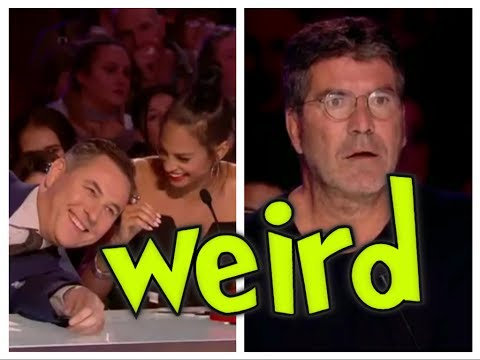 Britain's Got Talent 2017 - Top 10 Weird  Acts