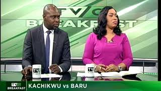 TVC Breakfast 9th October 2017 | Kachikwu VS Baru
