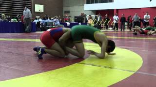 2014 Dino Invitational: 61 kg Marc Magano vs. Nathan Schwartz