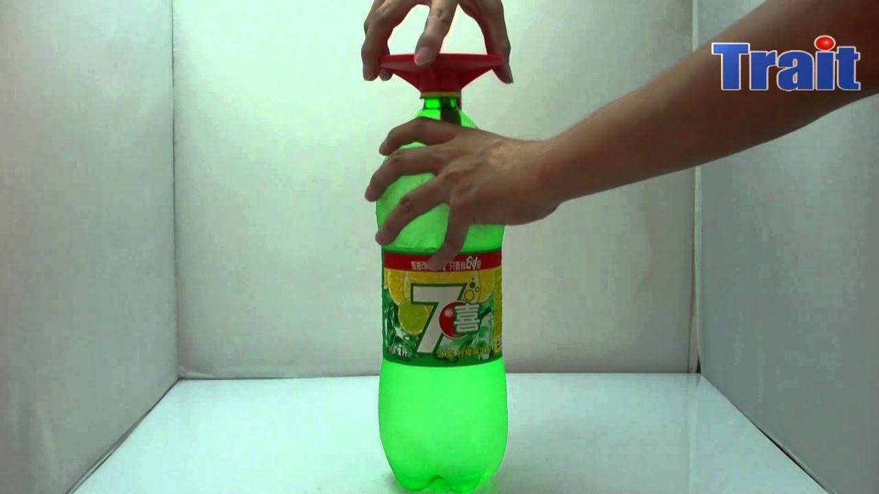Fridge Fizz Saver Soda Dispenser Coke Drinking Device Soft