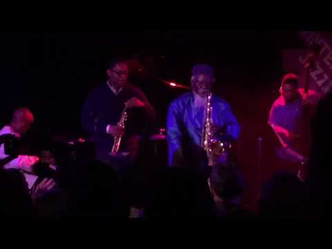 "Ravi Coltrane and Pharaoh Sanders do John Coltrane' ""Ole"" NYC LPR 1/5/17"