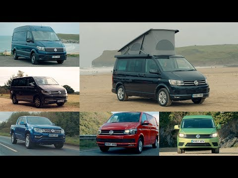 Volkswagen Commercial Vehicles UK Lineup | Amarok | Caddy | T6 | Crafter